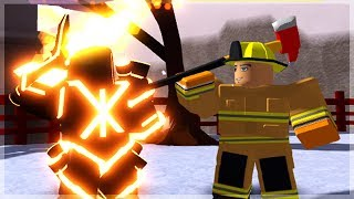 New Dungeon Quest Update & Buying The New Cosmetics: Incinerator, Fire Fighter & More (ROBLOX)