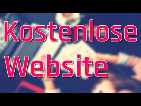 Kostenlose Website erstellen