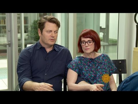 Nick Offerman & Megan Mullally's thrilling social life