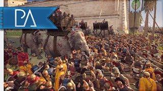 MOST AGGRESSIVE DEFENDERS I HAVE EVER SEEN! - 4v4 Siege - Total War: Rome 2