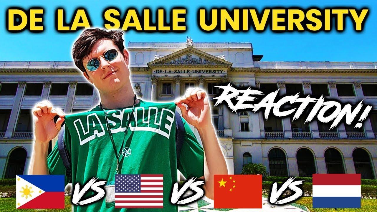 Photos De La Salle foreigner reacts to de la salle university (dlsu)! filipino university tour!