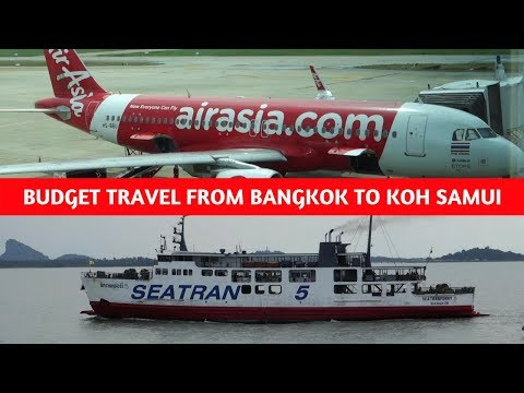HOW TO GET FROM SURAT THANI TO KOH SAMUI BUDGET TRAVEL