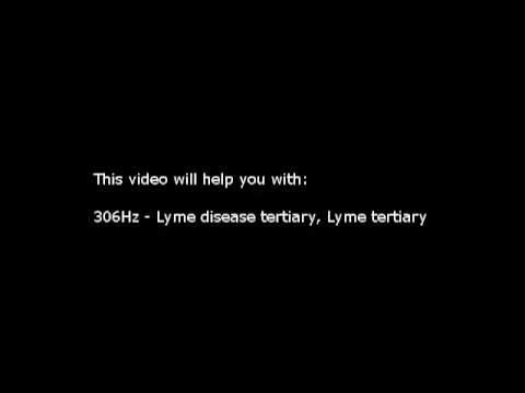 Lyme disease, Lyme tertiary (Isochronic Tones 306 Hz) Pure Series