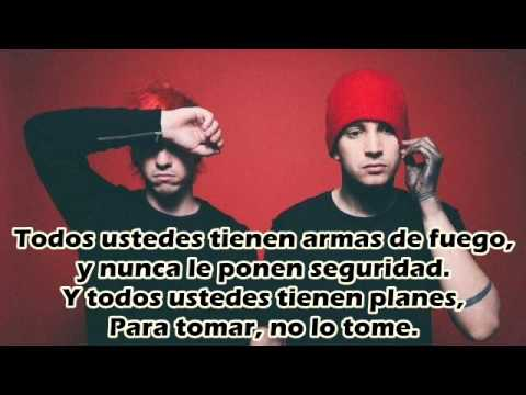 Twenty one pilots - Guns for hands sub.español