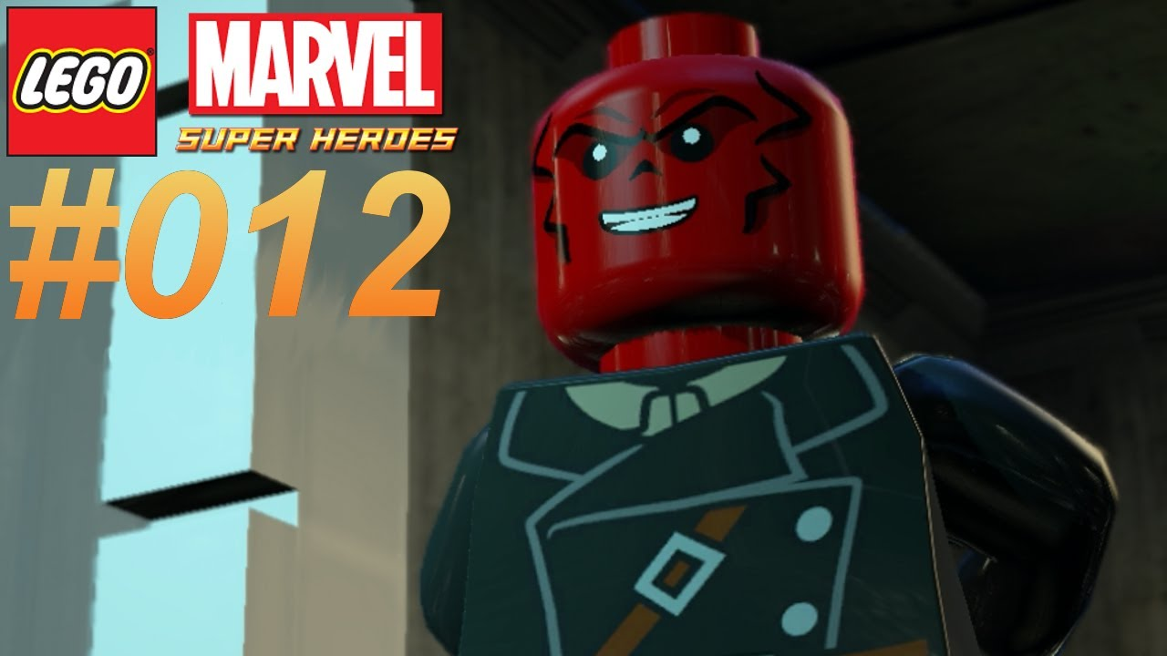 LEGO MARVEL SUPER HEROES #012 Red Skull ★ Let's Play LEGO ...