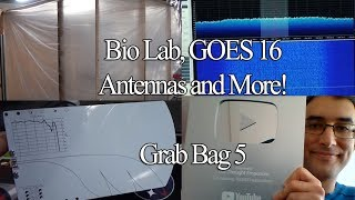 Bio Lab, GOES 16, SDR mods, Palm Tree Antennas and more!
