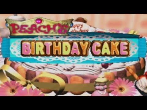 Mario Party Trg Peach S Birthday Cake