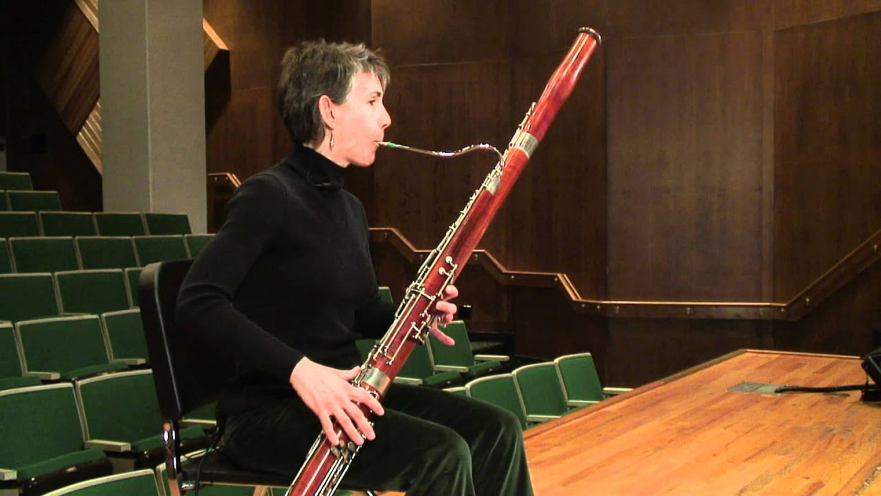 producing staccato on bassoon youtube