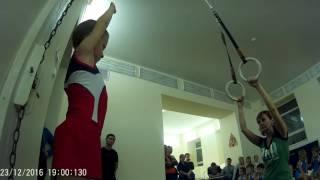 3 юношеский разряд спортивная гимнастика. упражнения на кольцах