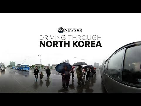Drive Through North Korea's Capital City | ABC News #360Video
