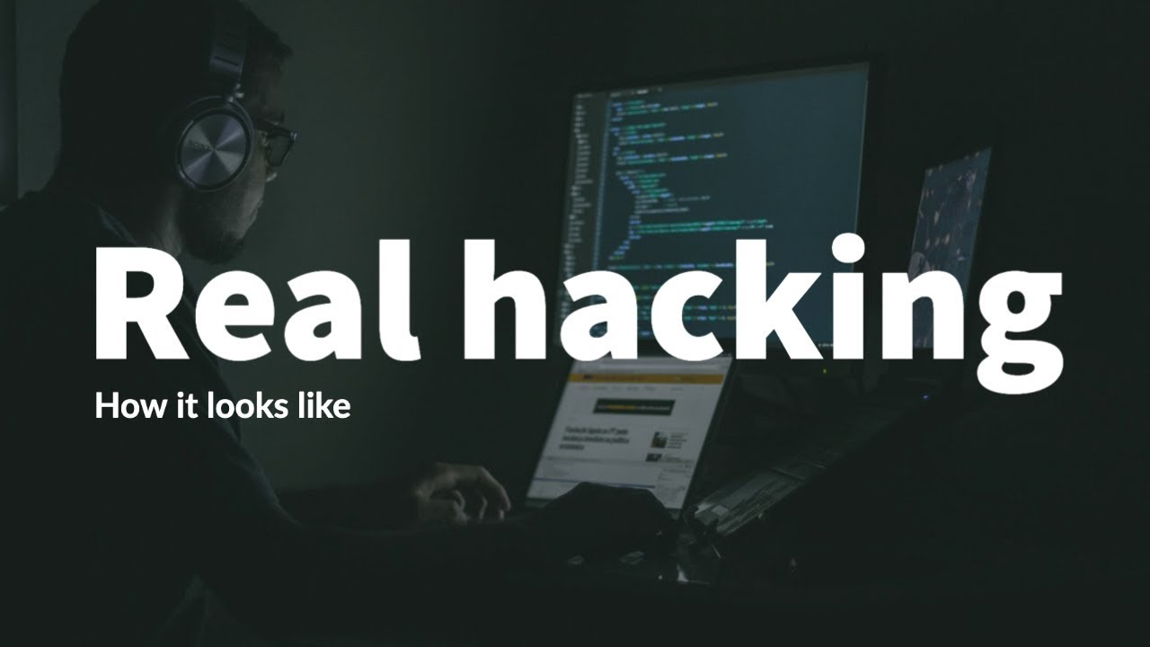 Download How hacking actually looks like.