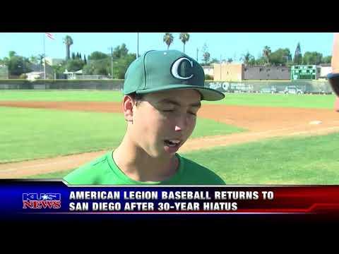 San Diego American Legion Baseball Championship Game  7 19 18