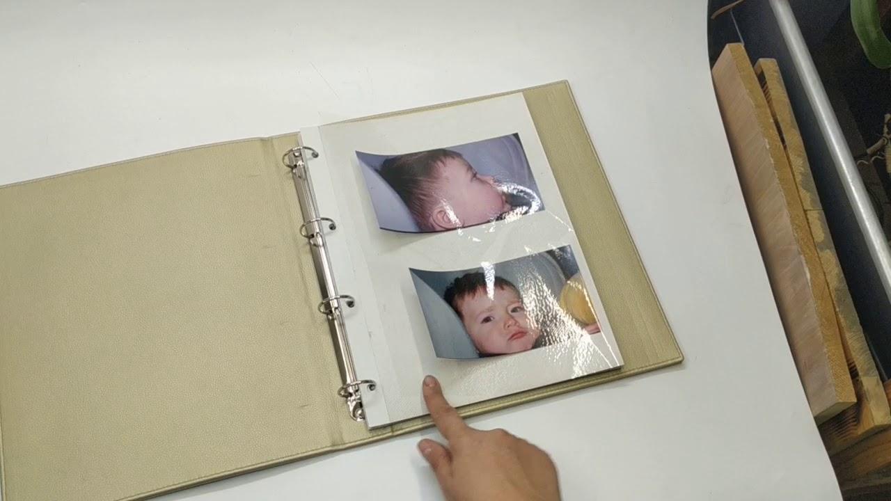 фотоальбом с пленком