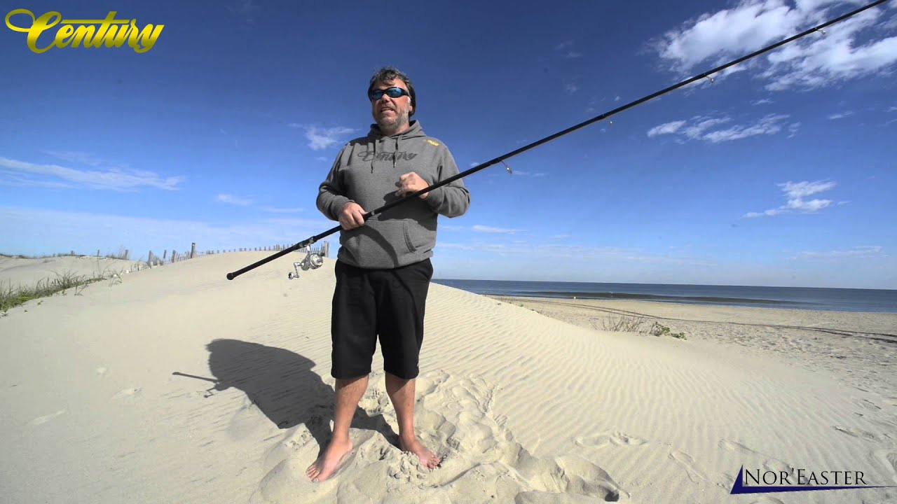 Century fishing rods kevlar nor 39 easter series advanced for Nor easter fishing