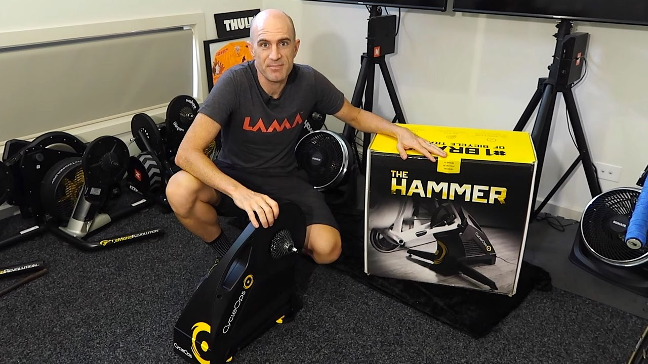 15a64ca07db CycleOps Hammer Smart Trainer: Setup, Ride, First Impressions - YouTube