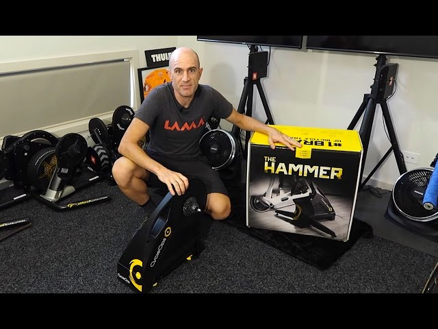 CycleOps Hammer Smart Trainer: Setup, Ride, First Impressions
