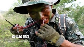 eating snake by bd army in treaning period