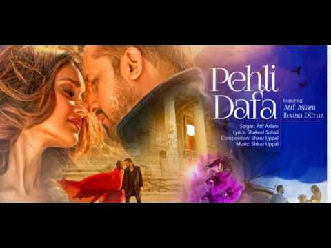 Thumbnail: Atif aslam - Pehli Dafa | With Lyrics | T-Series Music Album(2017)