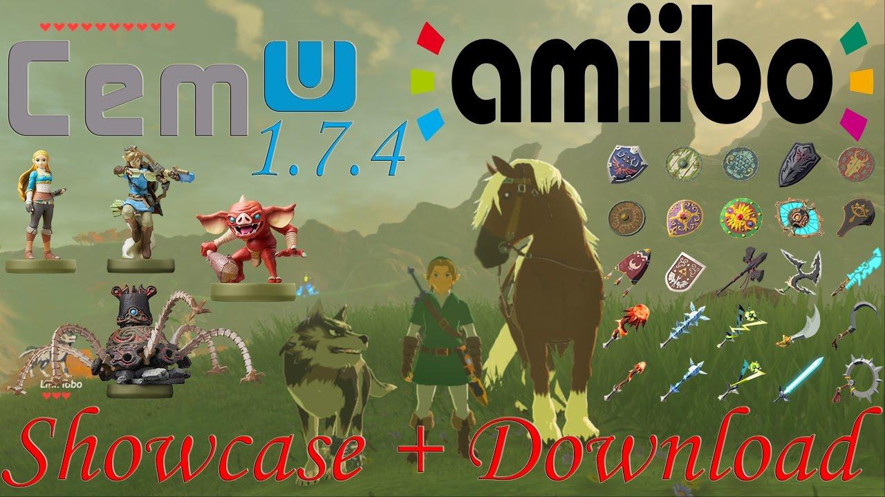 Zelda Breath Of The Wild Cemu 1 7 4 - Amiibos Working + DOWNLOAD!