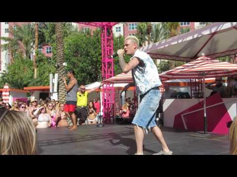 Aaron Carter (Las Vegas Flamingo Pool) - Sooner or Later