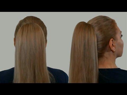 Прически Самой Себе Видео Урок: Как Сделать Высокий Хвост с Начесом| Смотреть Онлайн