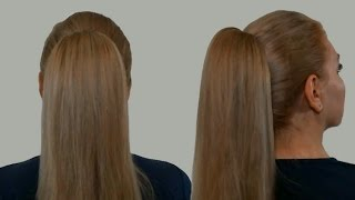Прически Самой Себе Видео Урок: Как Сделать Высокий Хвост с Начесом| Смотреть Онлайн(Причёски самой себе делать просто. Например, можно сделать высокий хвост с начесом. В этом видео уроке смотр..., 2013-12-20T19:29:41.000Z)