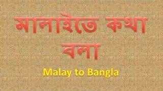 Malay to Bangla Translation - Malay to Bngla Sentence , Bangla to Malaysian Language