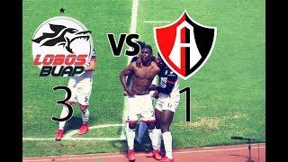 Lobos BUAP vs Atlas | Jornada 6 | Clausura 2018