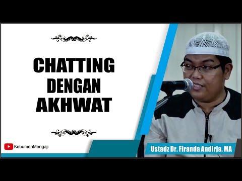Apa Hukumnya Chatting Dengan Akhwat   Non Mahrom - Ustadz Dr  Firanda Andirja, MA
