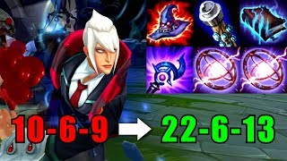 Rock3tt - INSANE VLADIMIR CARRY | Full AP Vladimir Gameplay | League of Legends