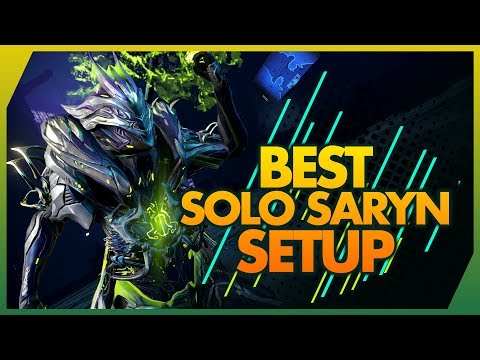 Warframe: Saryn | Best Solo All-Rounder Build - 4 Forma thumbnail