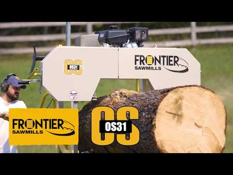 The World's BEST Portable Sawmill Value – An Overview of the Frontier OS31