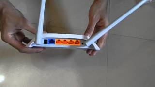 Unboxing TP-LINK TL-WR840N Ver 2.0 300Mbps Wireless N Router