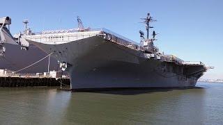 Exploring USS Hornet, CV 12, various clips, 7.24.2015