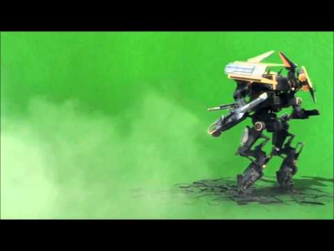 Robot on a Green Screen thumbnail