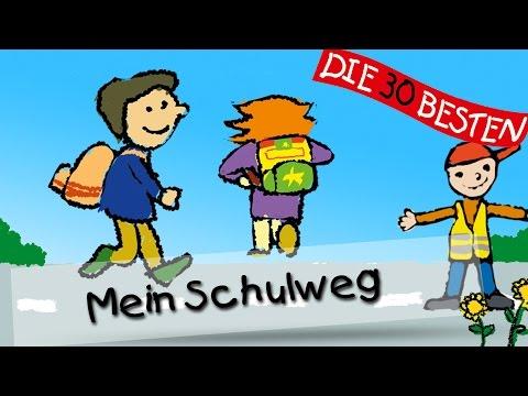Mein Schulweg - Die besten Lieder für den Schulanfang || Kinderlieder