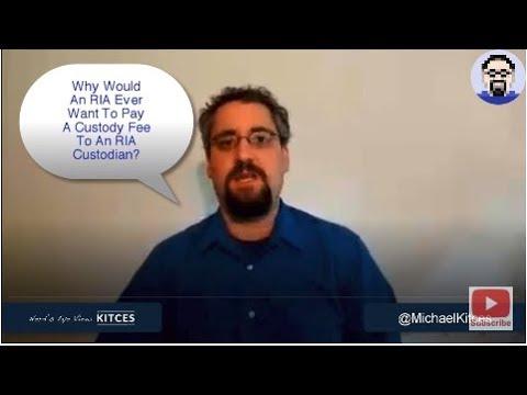 Why RIA Custodians Should Charge A Basis Point Custody Fee