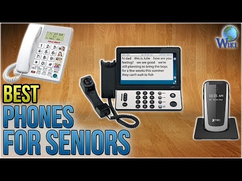 10 Best Phones For Seniors 2018