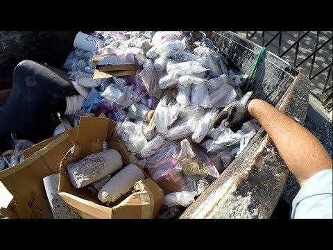 Dumpster Diving 'Dumpster Sushi'