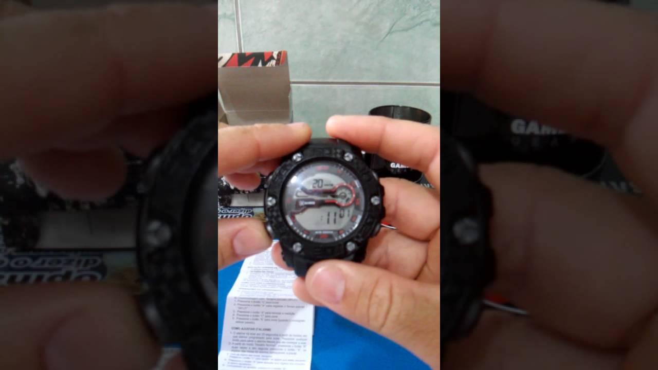 dfe55a9a4b5 Como mudar hora do relógio XGAMES - YouTube
