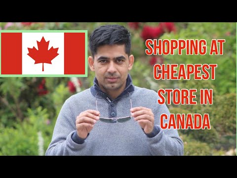 Shopping At Cheapest Store In Canada .Dollarama And Dollar Tree Store  In Winnipeg Canada