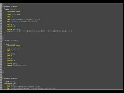 """Chemical"" - Live Coding in SuperCollider"