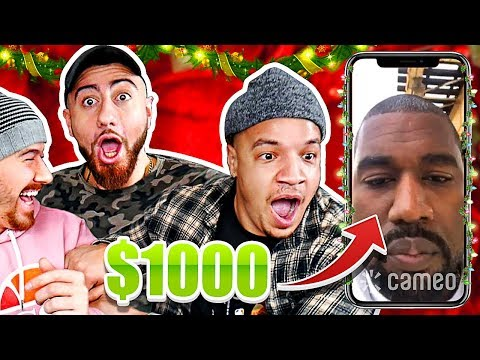 i Paid Celebrities $1000 To Sing Christmas Carols To My Friends!! (YOU WONT BELIEVE WHO WE GOT!)