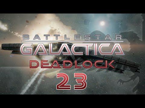 BATTLESTAR GALACTICA DEADLOCK #23 HUGE DOGFIGHT Preview - BSG Let's Play