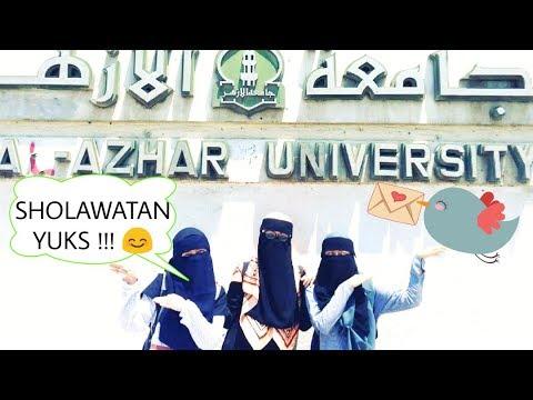 Bikin Nangis !! Dengar Sholawat dari Wanita Bercadar Mahasiswi  AL-AZHAR Kairo SANGAT MERDU