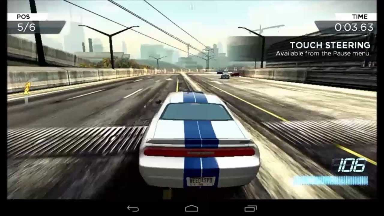 How install Need for Speed Most Wanted on Android