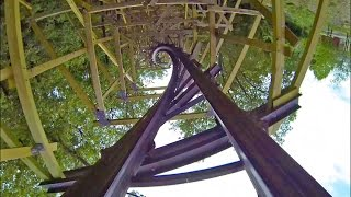 Outlaw Run is AWESOME! Roller Coaster POV at Silver Dollar City!