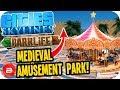 Cities Skylines Parklife - Medieval Amusement Park! #4 Cities Skylines Parklife DLC