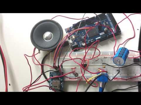 16-bit Audio Player using Arduino Due