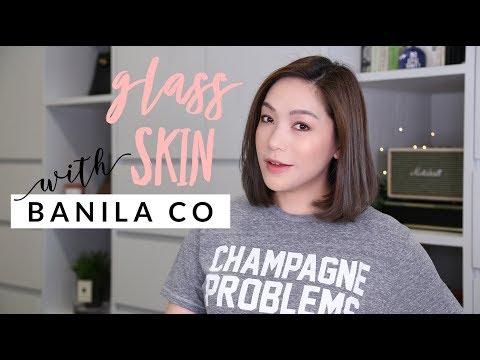 แต่งหน้าผิวใสกิ๊งแบบ glass skin กับ BANILA CO - วันที่ 13 Mar 2019